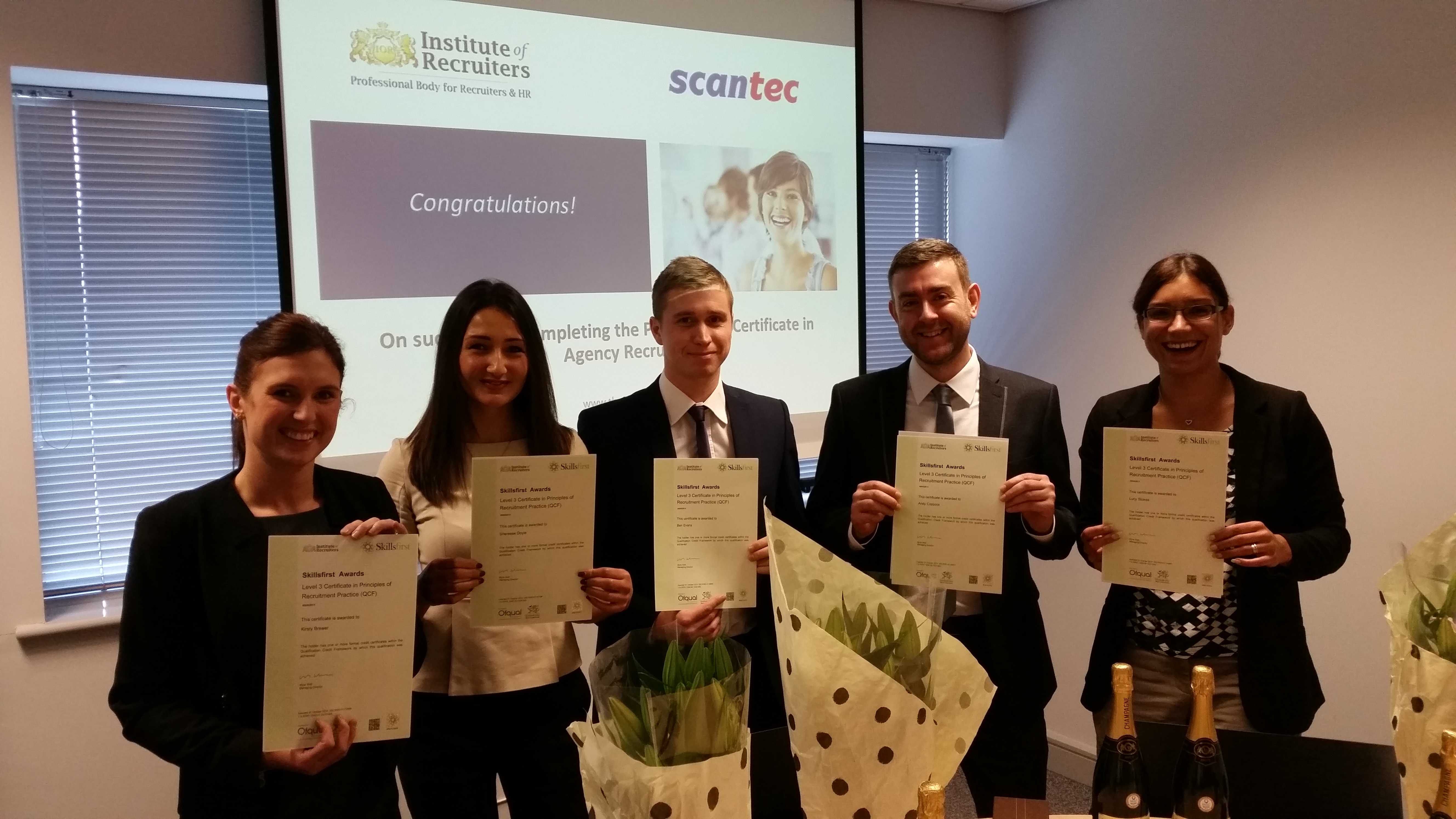 Scantec celebrates first successful IoR certificate cohort