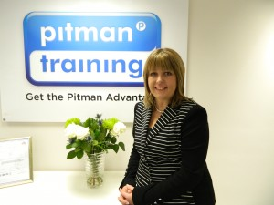 Claire Lister at Pitman Training